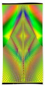 Fractal 32 Up Up And Away Beach Towel