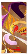 Fractal - Abstract - Space Time Beach Towel by Mike Savad