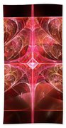 Fractal - Abstract - The Essecence Of Simplicity Beach Sheet