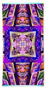 Fractal Ascension Beach Sheet by Derek Gedney