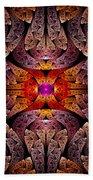 Fractal - Aztec - The Aztecs Beach Towel