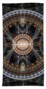 Fractal Inception Beach Towel by Martin Capek