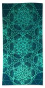 Fractal Interference Beach Towel
