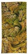 Fractal Leaf Mat-- 2 Beach Towel