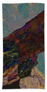 Fracture Section Il Beach Towel