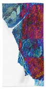 Fracture Section Xiii Beach Towel