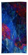 Fracture Section Xv Beach Towel