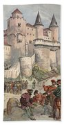 Francis I Held Prisoner In A Tower Beach Towel