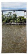 Francis Scott Key Bridge - Pano Beach Towel