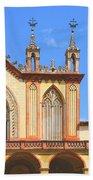 Franciscan Monastery In Nice France Beach Towel