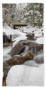 Franconia Notch State Park - White Mountains New Hampshire Usa - Flume Gorge Beach Towel by Erin Paul Donovan