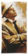 Frank Sinatra Artwork 1 Beach Sheet