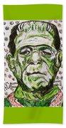 Frankenstein Beach Towel