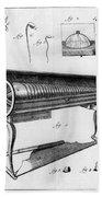 Franklin: Armonica, 1761 Beach Towel