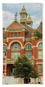 Franklin County Courthouse 4 Beach Towel
