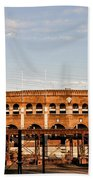 Franklin Field In The Morning Beach Towel