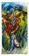 Freedom Beach Towel by Karina Llergo