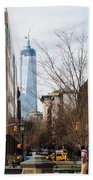 Freedom Tower From Washington Square Beach Towel