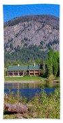 Freestone Inn Lakeside View Beach Towel