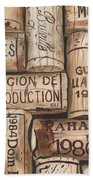 French Corks Beach Towel