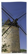 French Moulin Beach Towel