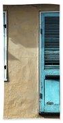 French Quarter Blues Beach Towel
