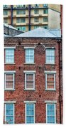 French Quarter Facades New Orleans Beach Towel