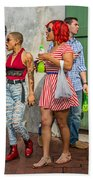 French Quarter - Party Time Beach Towel