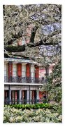 French Quarter Spring Beach Towel