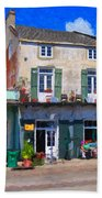 French Quarter Stroll New Orleans Beach Towel