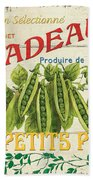 French Veggie Sign 1 Beach Towel by Debbie DeWitt