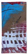 Frequency Static Beach Towel