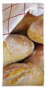 Fresh Bread Beach Towel by Carlos Caetano