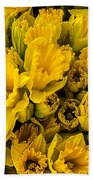 Fresh Daffodils  Beach Towel