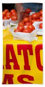 Cedar Park Texas Fresh Tomatoes Beach Towel