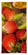 Fresh Fruit Salad Beach Towel