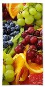 Fresh Fruits Beach Towel by Elena Elisseeva