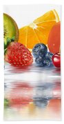 Fresh Fruits Beach Towel