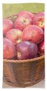 Fresh Red Apples Beach Towel