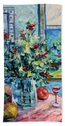 Fresh Spring Beach Towel