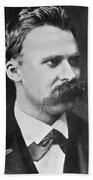 Friedrich Wilhelm Nietzsche Beach Towel