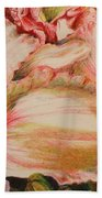 Frilly Pinks Beach Towel