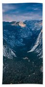 From Glacier Point Beach Towel