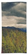 From Moro Rock Of The Sequoias Beach Towel