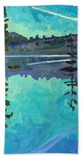 Frood Lake Outlet Beach Towel