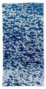 Frost Flakes On Ice - 02 Beach Towel