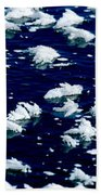 Frost Flakes On Ice - 05 Beach Towel