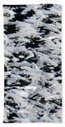 Frost Flakes On Ice - 06 Beach Towel