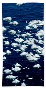 Frost Flakes On Ice - 21 Beach Towel