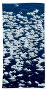 Frost Flakes On Ice - 28 Beach Towel